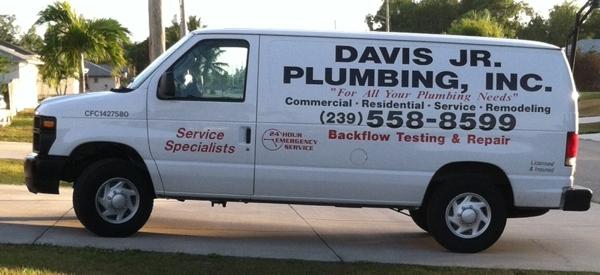 Davis Jr Plumbing Inc Cape Coral Plumber Fort Myers