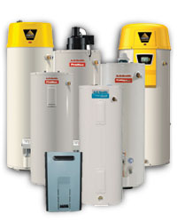 Water Heaters all brands and types - gas, electric, tankless